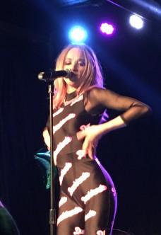 Shannon dancing