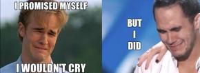 Dawson & Carlos Crying