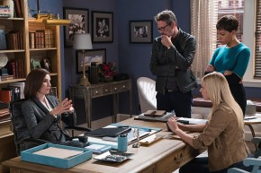 Good Wife - Alicia, Lucca, Jason, & Student