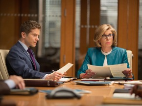The Good Wife - Cary & Diane in a meeting
