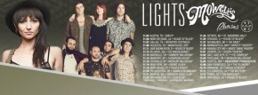 LIGHTS & The Mowgli's concert tour
